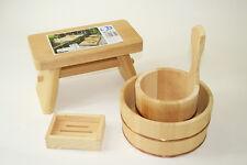 Special Bath Set Bathtub Chair Soap base cypress obtusa Hinoki JAPAN