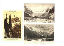 CPA 74 Haute-Savoie Chamonix lot de 3 CPA