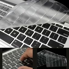 "TPU Keyboard Protector Skin Cover For 15.6"" TOSHIBA SATELLITE U50D U50T"