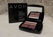 Avon New Full Size True Color Eye Shadow Quad Romantic Mauves Free Shipping