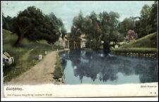 Trollhättan Sweden Svezia Sverige ~ 1900 Samla slussarne introduttore postcard