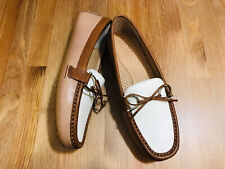 Ralph Lauren Briley II moccasins loafers driving leather shoes tan NWOB size 8.5