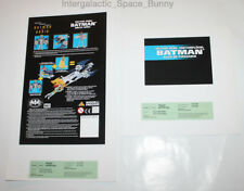 1995 Kenner Batman & Robin Duo Animated Vector Wing Proof Card Set Prototype
