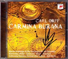 Martin GRUBINGER Signiert Carl ORFF CARMINA BURANA Simona Saturova Bruns BECK CD