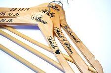 Custom Personalized Wedding Hangers, Calligraphy Wedding Dress Bride Hanger Gift