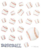 2 Sheets Baseball Sports Planner Stickers Papercraft  DIY Crafts Envelope Seals