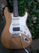 Vintage 1980s Made In Japan Squier Stratocaster With Dimartzio Humbucker