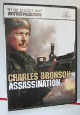 Assassination DVD 2008 Widescreen Full Frame Charles Bronson MGM Used