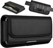 ykooe Rugged Nylon Holster for Samsung Galaxy Note 20 Ultra, X-Large, Black