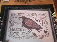 CS223,  Blackbird Designs, Spring Blessings, NEW, Published 2002,