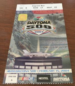 NASCAR 2004 Daytona 500 Ticket Stub Dale Earnhardt Jr 10th Win