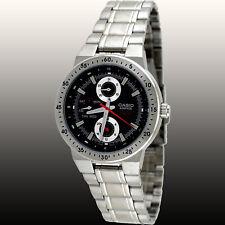Casio EF314D-1AV Men's Edifice Stainless Steel Black Dial Multi-function Watch