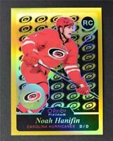 2015-16 O-Pee-Chee Platinum Retro Rainbow Gold #R78 Noah Hanifin /149 - NM-MT