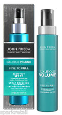 John Frieda Luxurious Volume Fine To Full BLOW OUT SPRAY 100ml Volumising