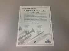 Campbell River Sketches by Mark Williams Concert Band Score