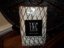 New INC International Concepts Valerie Cream/Black King Pillowcases