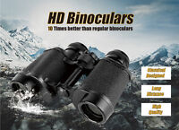 8X30 Russian HD Wide-angle Central Zoom BAK4 Military Binoculars Telescope&bag