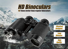 8X30 Russian HD Wide-angle Central Zoom Military Binoculars Telescope Prism