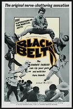 BLACK BELT Movie POSTER 27x40 B Shawn Lung Zee Lon