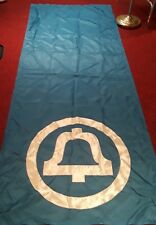 Vintage Blue Bell Telephone 3' x 8' Flag/Banner Classic Logo 1969/1970s