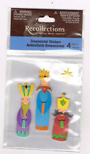RECOLLECTIONS 3 KINGS DIMENSIONAL STICKERS BNIP