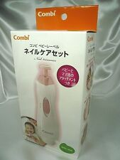 Combi Newborn Baby & Mom Nail Trimmer Care Set Pink Japan Import Free shipping
