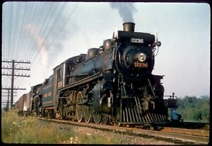 138-08 Colour Slide Canadian Pacific 4-6-2 Steam Locomotive #2236