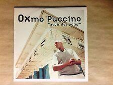 RARE CD SINGLE 3 TITRES / OXMO PUCCINO / AVOIR DES POTES / NEUF SOUS CELLO