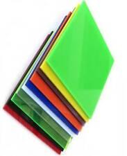 10pc Acrylic sheet 200x100x2mm Transparent Green Taiwan
