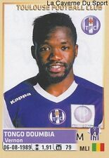 473 TONGO DOUMBIA MALI TOULOUSE.FC TFC STICKER FOOTBALL 2015 PANINI ~