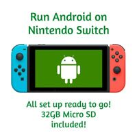 Android for Nintendo Switch Mod with 32gb Micro SD