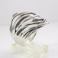 Hagit Gorali Sterling Silver Abstract Modernist Ring Size 9 LHA5