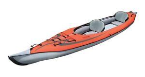 Advanced Elements Advanced Frame Convertible TM Kajak Luftboot red-grey