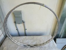 FIAMME ERGAL SEW UP GLUE ON 700C RIMS 36 HOLE ROAD RACING FIXIE BICYCLE