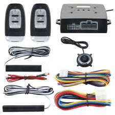 PKE Car Alarm System Passive Keyless Entry Push Button Start/Stop Remote Engine