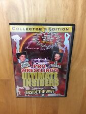 PRO WRESTLING'S ULTIMATE INSIDERS VOL 1 DVD COLLECTOR'S EDITION DVD 2005 DVD WWF