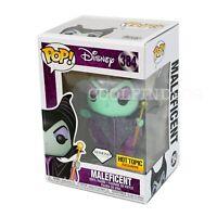 Disney Maleficent Glitter Funko Pop! Diamond Collection Hot Topic Exclusive #384