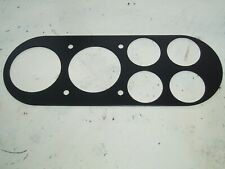 Ford Escort Mk1 RS2000 Twin Cam Mexico Instrument Cluster Plate