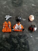 LEGO STAR WARS POE DAMERON ONLY FROM SET 75273 WITH ACCESSORIES BRAND NEW