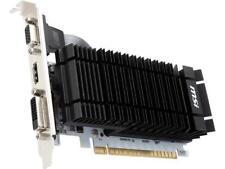 MSI GeForce GT 730 DirectX 12 N730K-2GD3H/LP 2GB 64-Bit DDR3 PCI Express 2.0 HDC