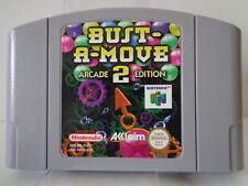 N64 jeu-Bust A Move 2 Arcade Edition (PAL) (Module)