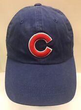 d9f4b15a Chicago Cubs MLB Baseball Cap StrapBack Hat Men S M Blue Twins Enterprise
