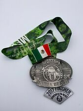 Rare 2017 Spartan Race Mexico Ultra Beast Medal W/Wedge