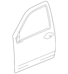 Genuine GM Outer Panel 15219048