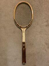 Wilson Jack Kramer Personal 7 Crown Vintage Wood Tennis Racquet