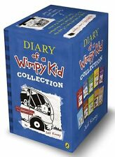 Diary of a Wimpy Kid 10 Book Collection by Jeff Kinney