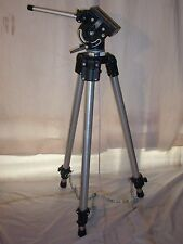 "Bogen Manfrotto 3061 tripod 3066 / 116 heavy duty head 70""tall"