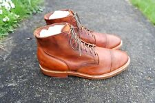 Viberg Service Boots Tan Horsehide Leather Lace Up Ankle Size 12 Canada