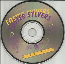 FOSTER SYLVERS I'll Do it w/ RARE REMIX EDIT 2TRX PROMO Radio DJ CD single 1990
