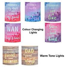 Sterne Licht Laterne - Farb Verändernd LED - Design Wählbar